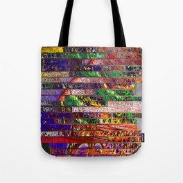 wall of bricks Tote Bag