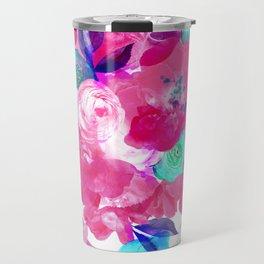 Light Bloom Pattern by Heidi Appel Travel Mug