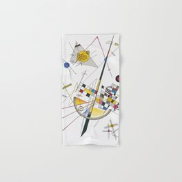 Wassily Kandinsky - Zarte Spannung (Delicate Tension) Hand & Bath Towel