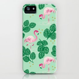 Flamingo Friends iPhone Case