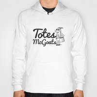 totes Hoodies featuring Totes McGoats by Scoggz