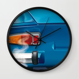 Renault Alpine A110 from 1962 Wall Clock