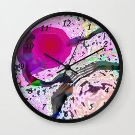 Pink Hole Wall Clock
