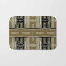 Gold Black Glam ArtDeco X5 Bath Mat