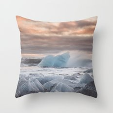 The Ice Cold Heaven Throw Pillow