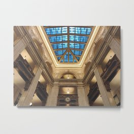 Looking Up in the David Whitney Building Metal Print