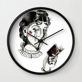 Loves Lost, 2014. Wall Clock