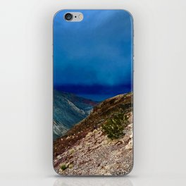 Storm at Sunset in Death Valley, California iPhone Skin