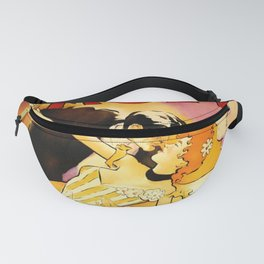 Vintage Moet Champagne Advertising Wall Art Fanny Pack