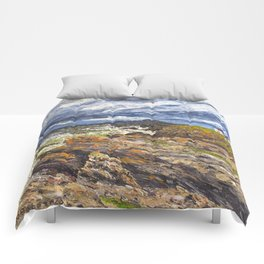 Wind swept sea Anglesey Gromlech Comforters