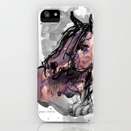 HORSE (ROUGE) iPhone Case