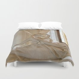 A Kiss is so Complicated Duvet Cover