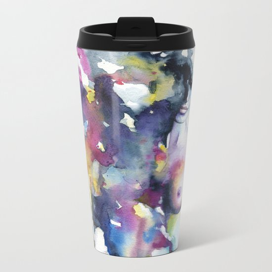 Half of me Metal Travel Mug