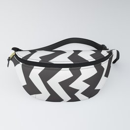 80s Zigzag Fanny Pack