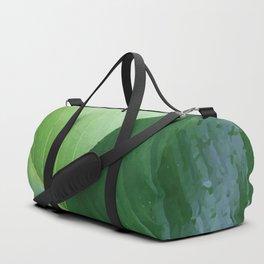 Big Banana Leaves green Duffle Bag