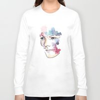 louis tomlinson Long Sleeve T-shirts featuring Louis Tomlinson by bellavigg