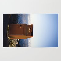 miles davis Area & Throw Rugs featuring Miles high trash can by Katie Jean Images