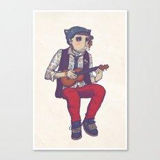 Ukulele Guy Canvas Print