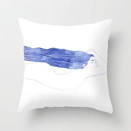 Nereid XLIX Throw Pillow