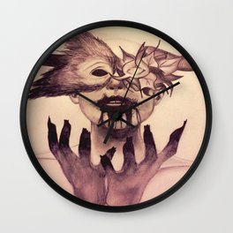 Kill the monster Wall Clock