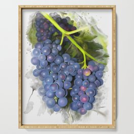 Concord grape Serving Tray