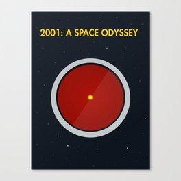 2001: A Space Odyssey - HAL 3000 Canvas Print