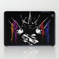 teenage mutant ninja turtles iPad Cases featuring Shredder - Teenage Mutant Ninja Turtles by offbeatzombie