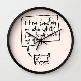 Little Cat Wall Clock