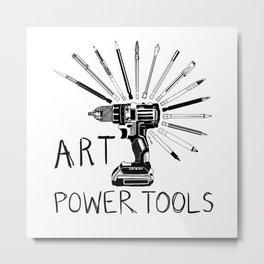 Art Power Tools Metal Print