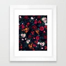 The Midnight Garden Framed Art Print