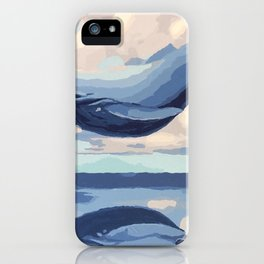 Fascinating Giant Fairytale Sea Creature Levitating Dreamy UHD iPhone Case