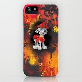 Marshal digital painting iPhone Case