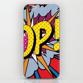 POP Art #4 iPhone Skin