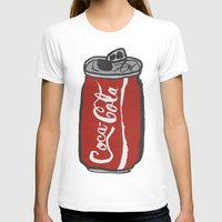 coke T-shirts featuring COKE 4EVR by Josh LaFayette