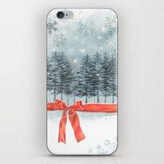 wintertrees iPhone & iPod Skin