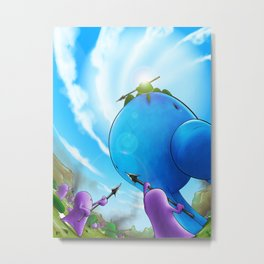 Roombura Metal Print