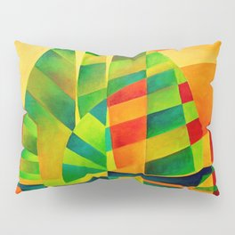 Chinese Junks, Sunset, Sails and Shadows Pillow Sham