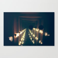 Smoke n' Mirrors Canvas Print