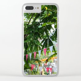 Dreamy Mexican Street Clear iPhone Case