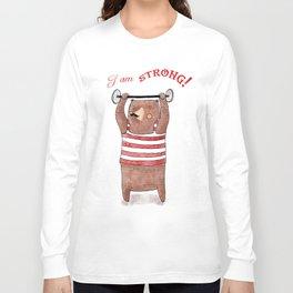 I am strong Long Sleeve T-shirt