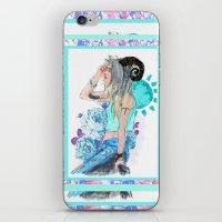aries iPhone & iPod Skins featuring Aries by Sara Eshak