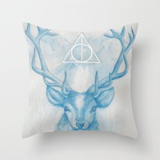 Expecto Patronum Throw Pillow