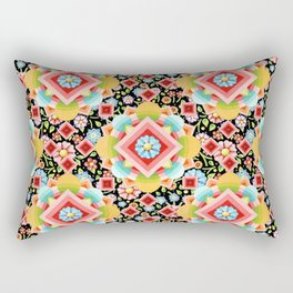 Groovy Cosmic Chintz Rectangular Pillow