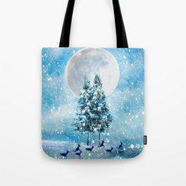 Winter Night 4 Tote Bag