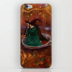 The Tea Witch iPhone & iPod Skin