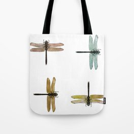 Mystical Dragonfly Graphic Pattern Tote Bag