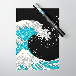 The Great Wave (night version) Wrapping Paper