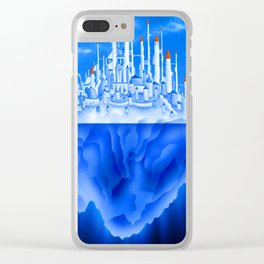 Iceberg City Clear iPhone Case