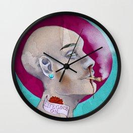 LIFEGOESON Wall Clock