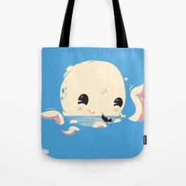 Adorable Octopus Battle (Bold) Tote Bag